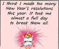 Maxines Resolutions