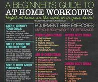 a beginners guide to at home workouts
