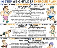 10 step weight loss plan