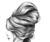 Hairstyle Fashion Illustration