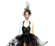 Glamorous Fashion Illustration