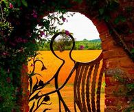 Angel Gate for the Garden