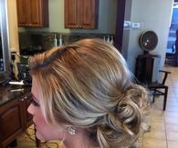 Elegant Loose Updo Wedding Hairstyle