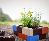 How to make lego garden blocks
