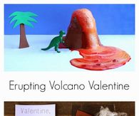 How to make an erupting Volcano Valentine