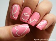 Love designed nails