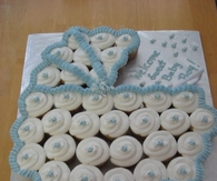 Baby Carriage Cupcakes