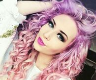 Pink and Purple Curls