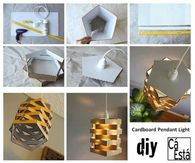 DIY Cardboard Light