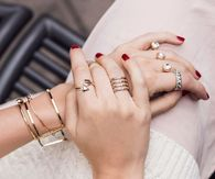 Gold & Diamond Rings & Bracelets