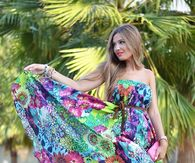 Bright & Colorful Summer Dress