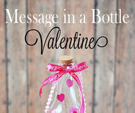 Message in a bottle valentines