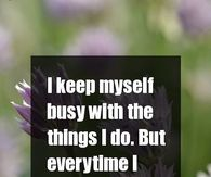 I still think of you