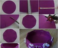 How to make a pretty felt basket