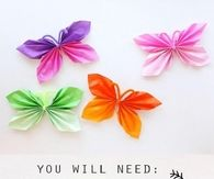 DIY Paper Butteflies