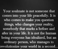 Your soulmate