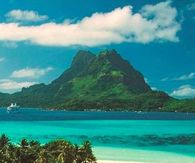 Beach In Bora Bora