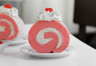 How to make a pink velvet roulade