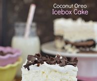 How to make an coconut oreo icebox cake