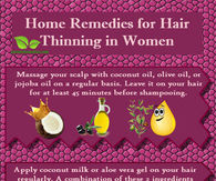 Hair Thinning Remedies