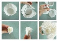 DIY Coffee Filter Roses