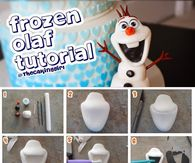Frozen Olaf Tutorial
