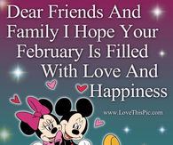 Hope Your February Is Great