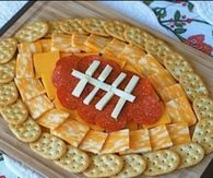 Football Snack Tray