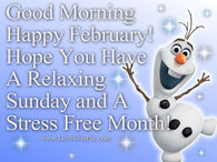 Good Morning February