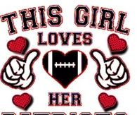 This girl loves her patriots