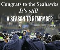 Congratulations Seattle Seahawks