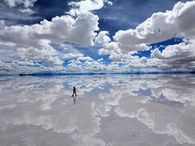 Salar De Uyuni, Bolivia World's Largest Salt Flat