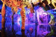 240 Meter Long Cave in Guilin, China