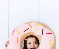 How to make a donut pillow