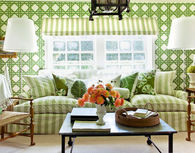Living Room Decorated with a Spring Cottage Style