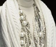 Beautiful Pearl & Silver Chain Necklace