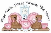 Time with friends warns the heart