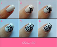 Zebra Nails Tutorial