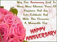 May our Anniversary lead to many more glorious years....