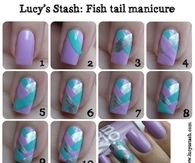 Fish Tail Manicure