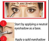 How To Make Brown Eyes Sparkle