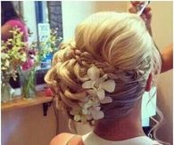 Beautiful Flower Updo