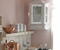Pink Paris Kitchen