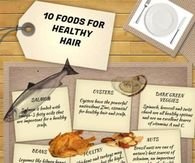 10 Food for healthy hair