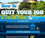 Quit your job and live on a boat