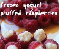 Frozen Yogurt Rasberries