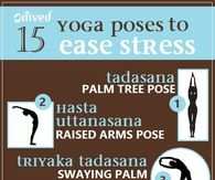 15 Yoga Poses To Ease Stress