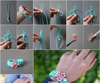 DIY Jeweled Bracelet