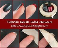 DIY Double Sided Manicure
