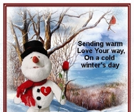Sending Warm Love Your Way